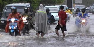 motor mogok akibat banjir