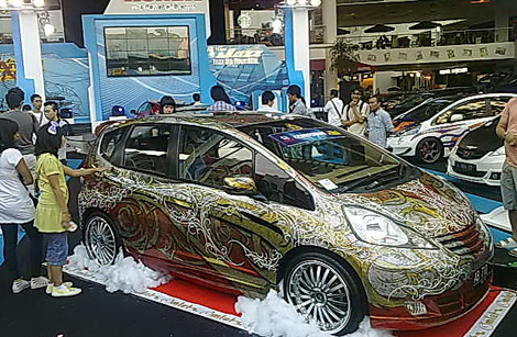 Batik Men Dunia Dari Modif Motor Modif Mobil Sampai Alm Nelson